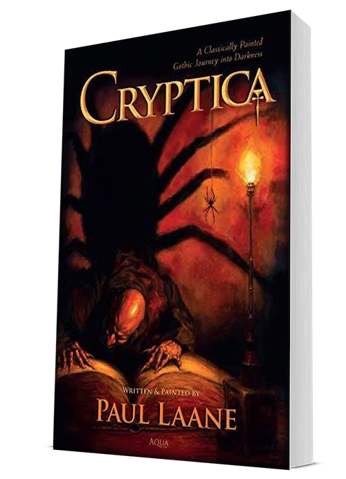 Cryptica Gothic Fantasy book by Paul Laane